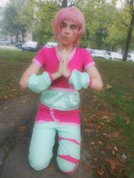 Aelita in the forest   Cosplay by Mew-Malaurie