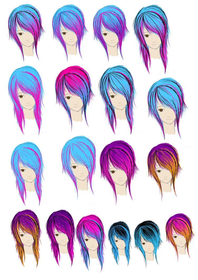 Crazy Hair Color Ideas For Short Hair Images & Pictures - Becuo