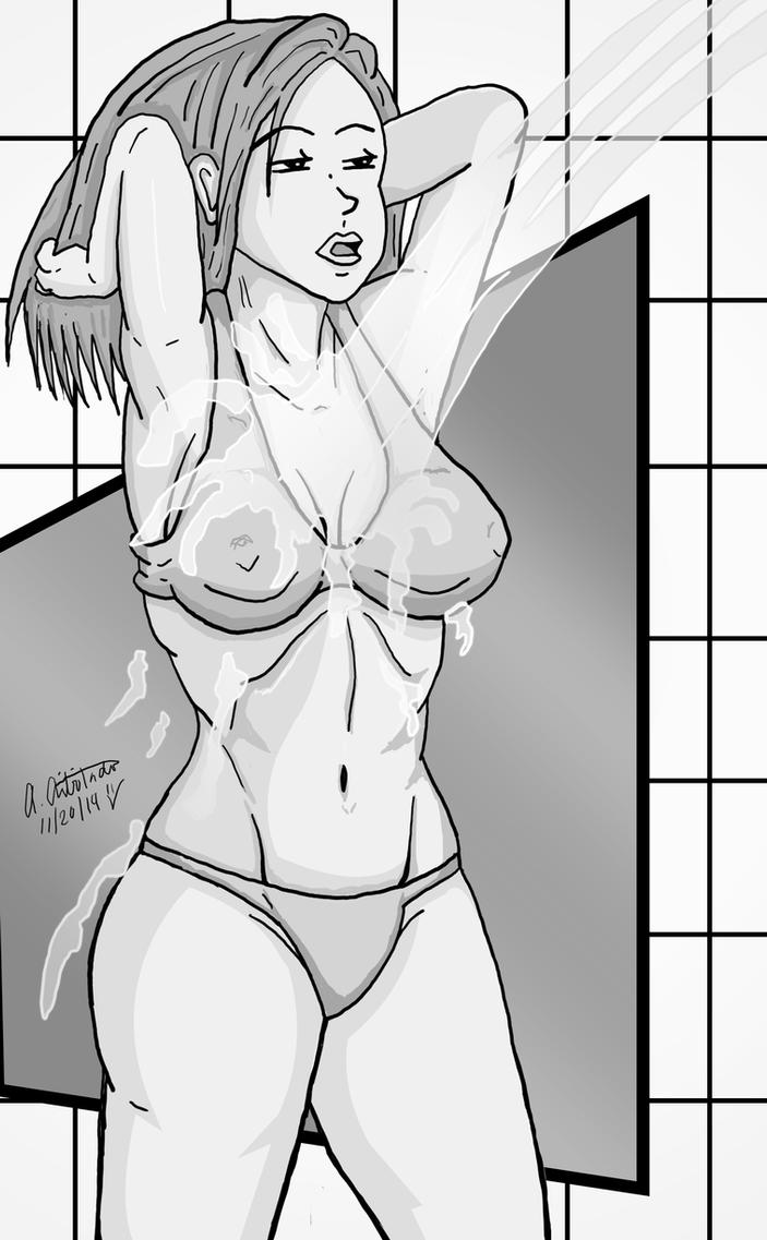 Time for some shower by archaznable30