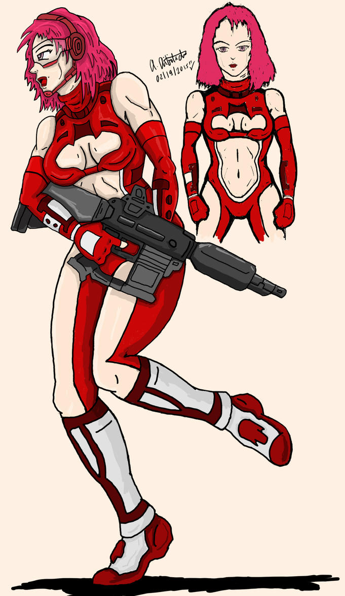 Sci-Fi Girl by archaznable30