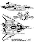 Macross Frontier VF-171 Ex Nightmare Plus