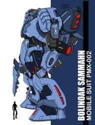 Bolinoak Sammahn PMX-002 by archaznable30