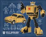 Blueprint Bumblebee (Masterpiece MP-21)