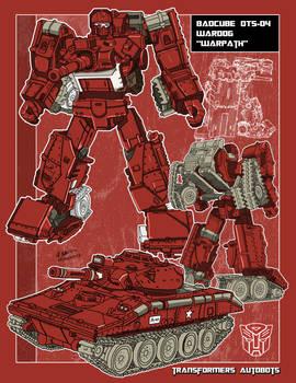 BADCUBE OTS-04 Wardog (a.k.a. Warpath)