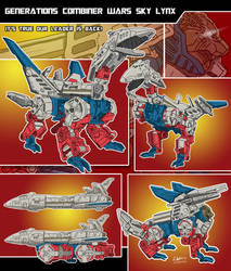 Generation Combiner Wars Sky Lynx by archaznable30