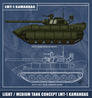 LMT-1 Kamandag Light / Medium Tank Concept