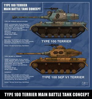 Type 100 Terrier Main Battle Tank Concept