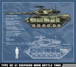 Type 101 V1 Shepherd Main Battle Tank