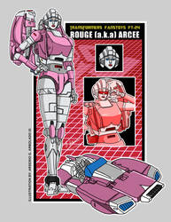 Transformers FansToys FT-24 Rogue (a.k.a.) Arcee by archaznable30