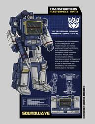 Transformers  Masterpiece MP-13 Soundwave by archaznable30