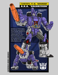 FansToys FT-16 Sovereign a.k.a. Galvatron by archaznable30