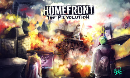 Rainbow - Homefront : The Revolution