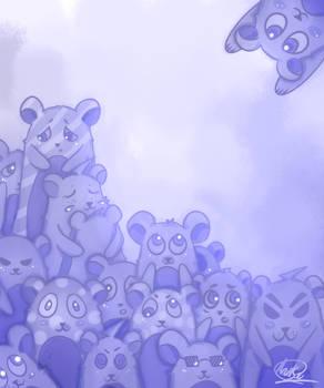 Bears : Monochromatic