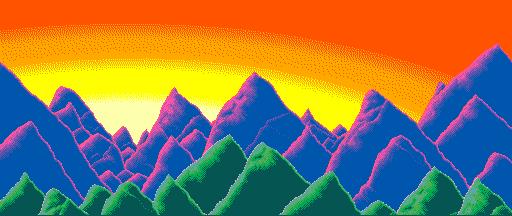 Kaizen's Honden's mountainscape by NinRac
