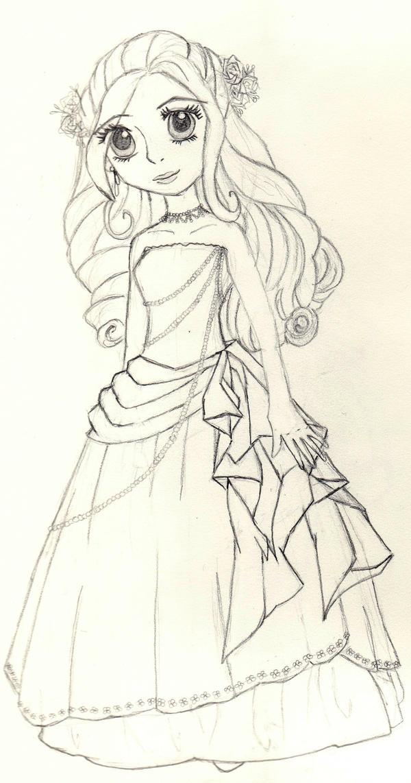Future XV sketch by maripinkkirby