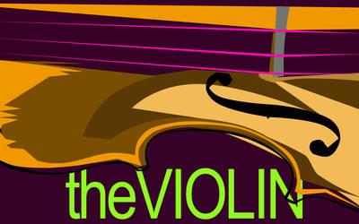 the violin by xALIASx