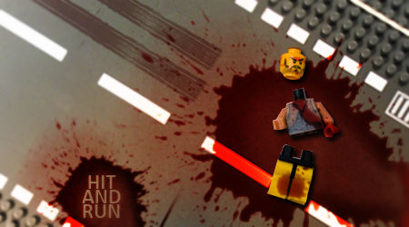 Hit and Run , lego style