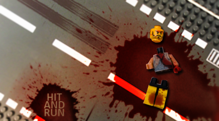 Hit and Run , lego style by xALIASx