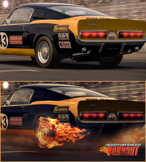 Need for speed : burnout (the shelby)