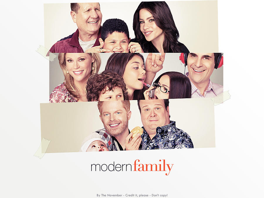 Modern family wallpaper 1 by thenovember on deviantart for Modern family wallpaper