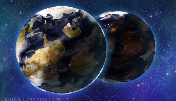 The Twin Planets: Updated