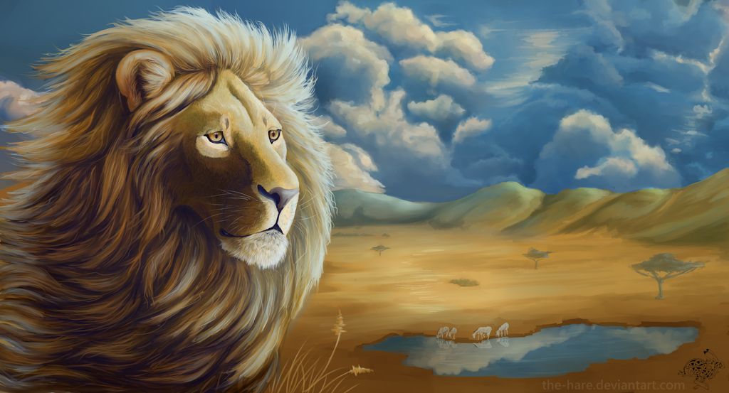My Lands: Gold Lion 2015 by The-Hare
