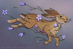 There Were Flowers Running Through My Hare by TheVerdantHare