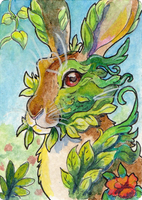 ACEO: Verdant by TheVerdantHare
