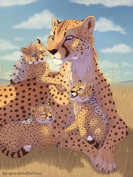 Serengeti Snuggles
