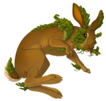 Hare full of Leaves