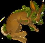 Hare full of Leaves