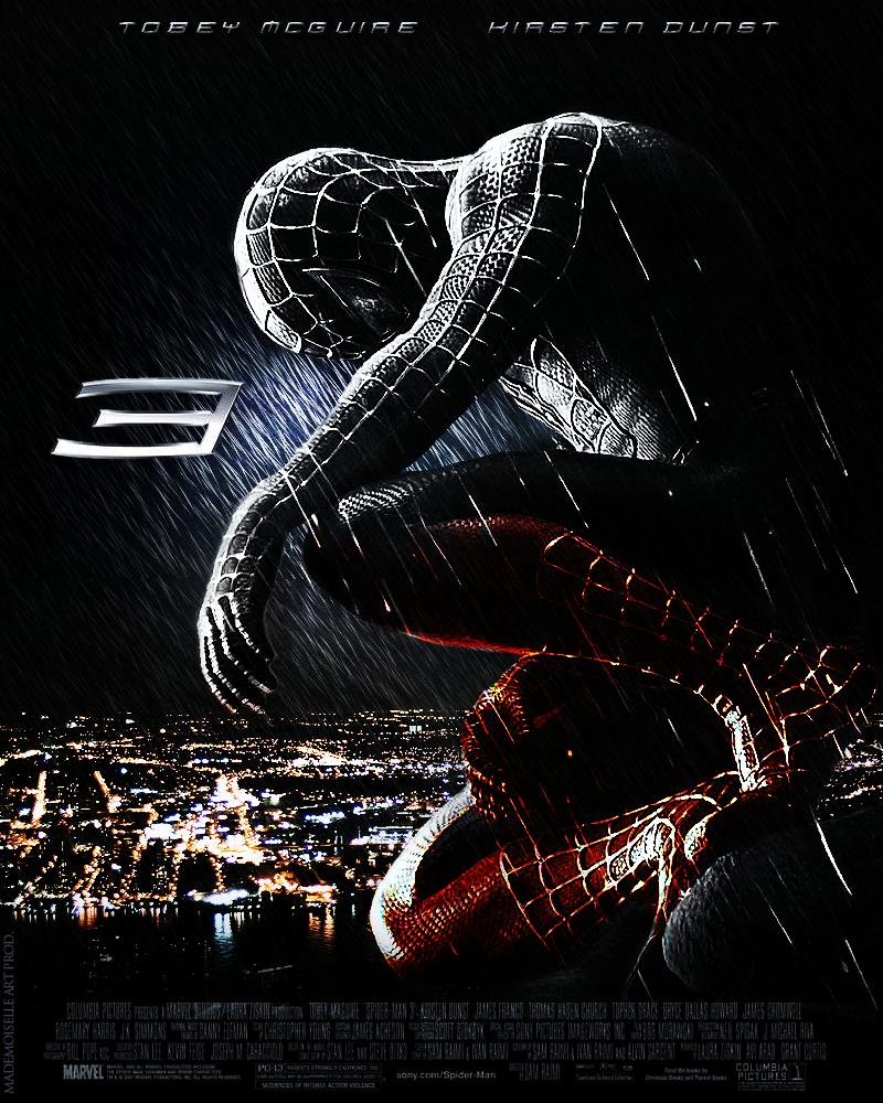 Spider Man Movie Poster by mademoiselle-art on DeviantArt