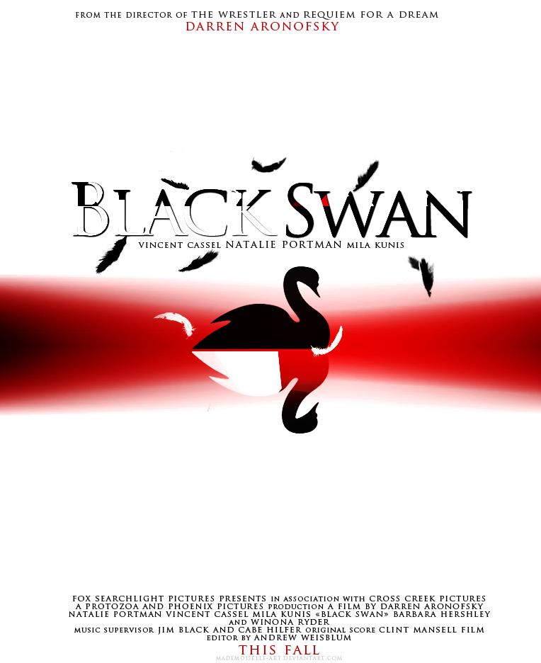 black swan poster art. Black Swan Poster by