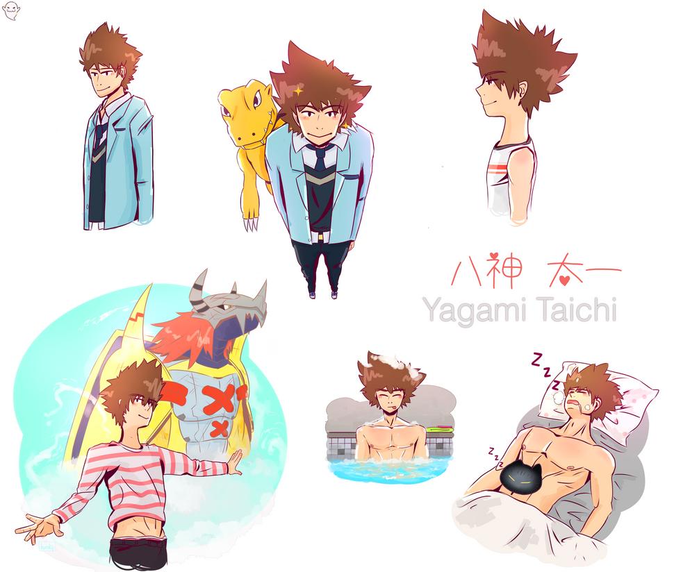 Digimon Tai by LaCandida