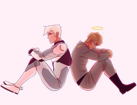 Shiro and Adam