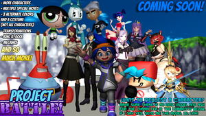 New MMD Project! - PROJECT BATTLE!