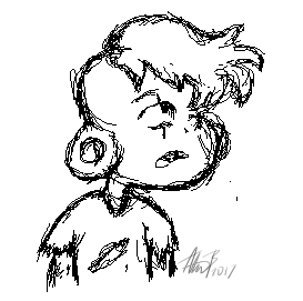 Lars Sketch by GalliArts