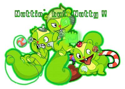 Team Nutty , Nutty and Nutty by Miza33