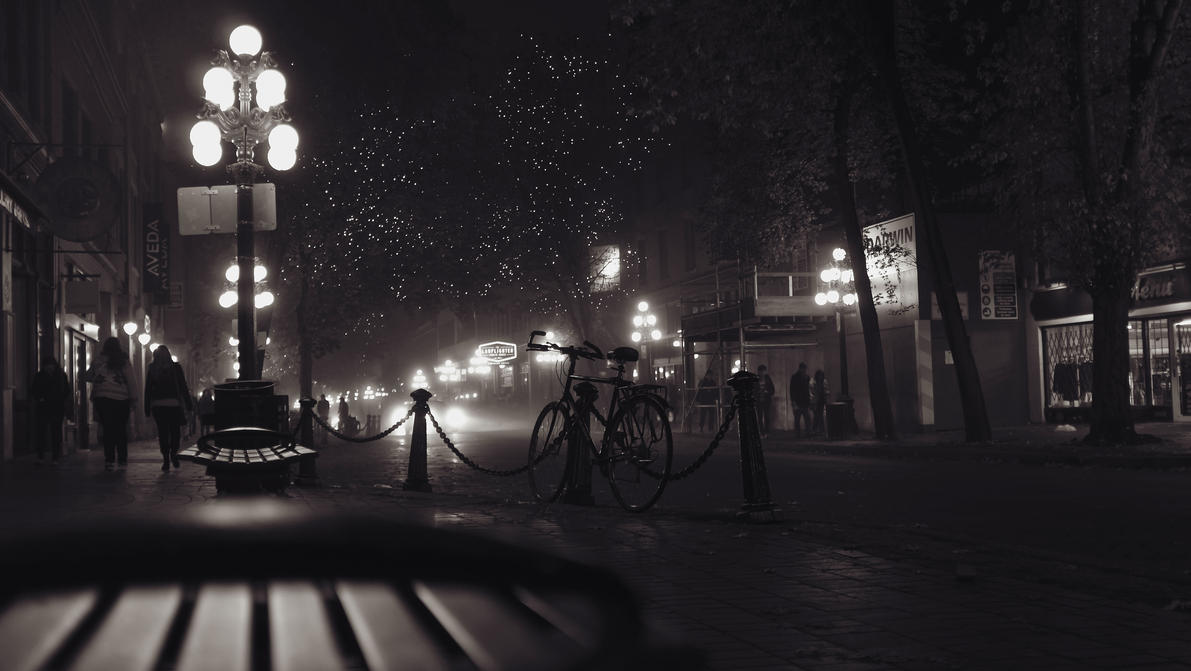 A cold Gas Town night by dart47