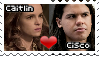 Caitlin x Cisco Stamp F2U {THE FLASH SHIPPING} by StampsCenteral