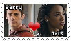 Barry x Iris Stamp F2U {THE FLASH SHIPPING} by StampsCenteral