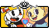 .:Cuphead x Ms Chalice Stamp F2U:. by StampsCenteral