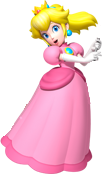 [Edited]- Peach's Pose without Flag and Car! by xXCamTroXx