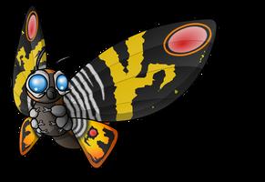 Mothra by ewedy2