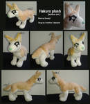Ginga: Hakuro plush by ewedy2
