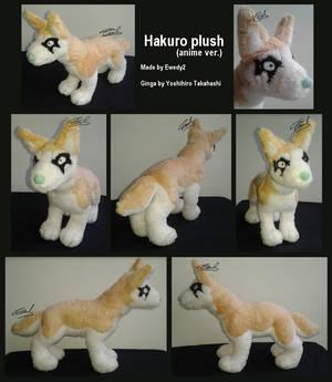 Ginga: Hakuro plush