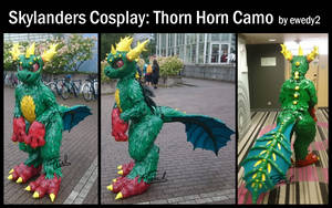 Skylanders Cosplay: Thorn Horn Camo