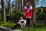 Kanon- Kaori and Shiori Misaka by artisticpsyco