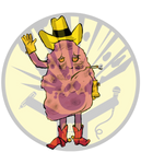 Jeff The Diseased Lung by soursoulART