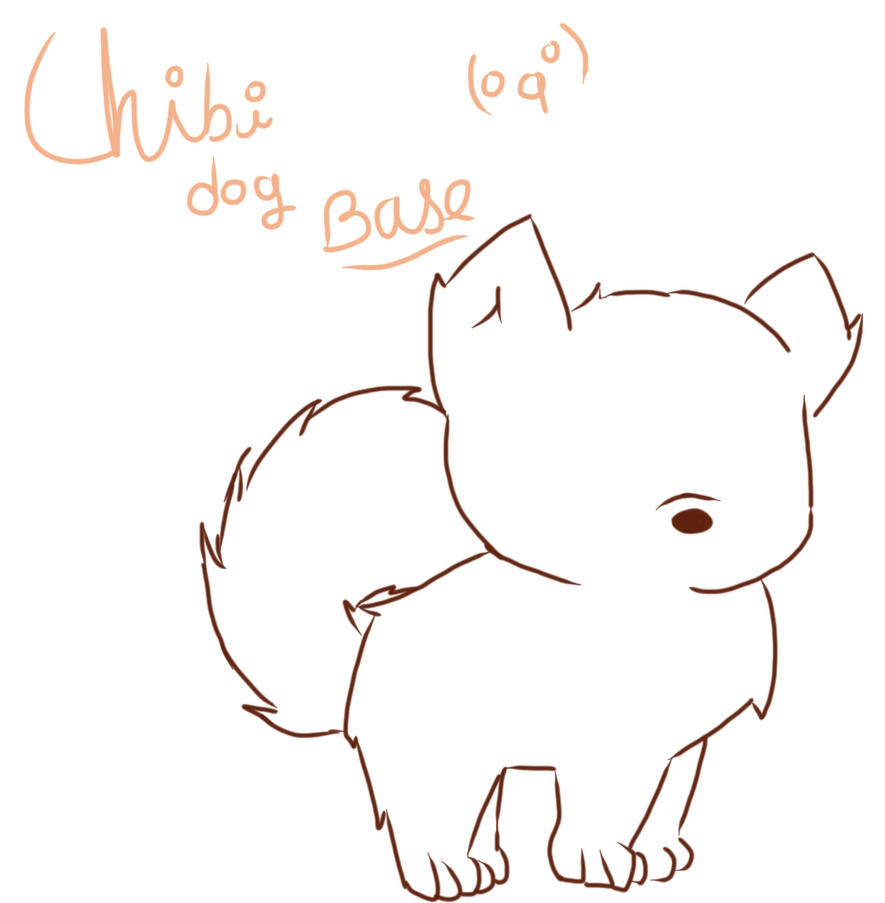 chibi dog base by CANTxFLY on DeviantArt